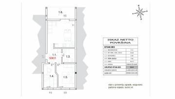 Dvosobni stan na prodaju Peroj Fažana